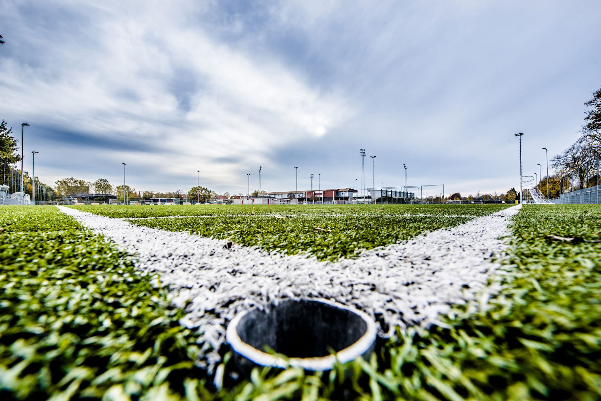Sfeerfoto voetbalveld