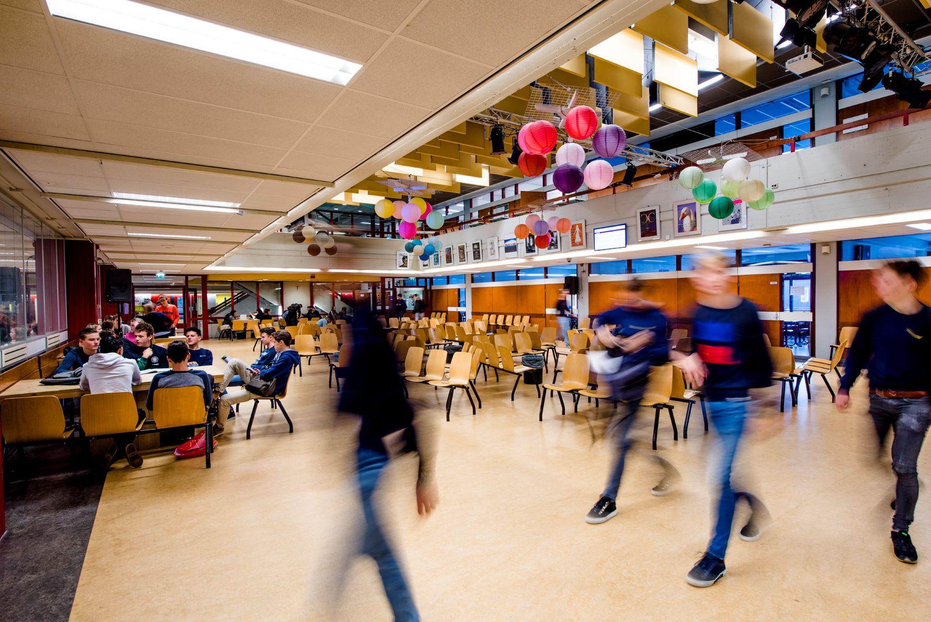 Aula van het huidige Dr Knippenbergcollege