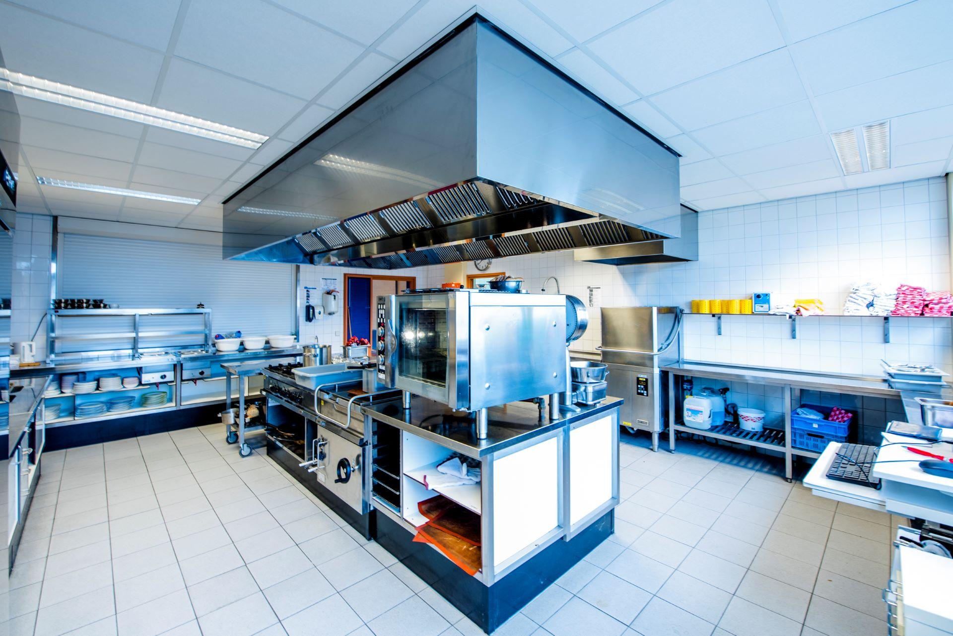Praktijkruimte keuken op Praktijkschool Helmond