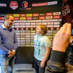 Leerling van mediahuis Helmond neemt interview af