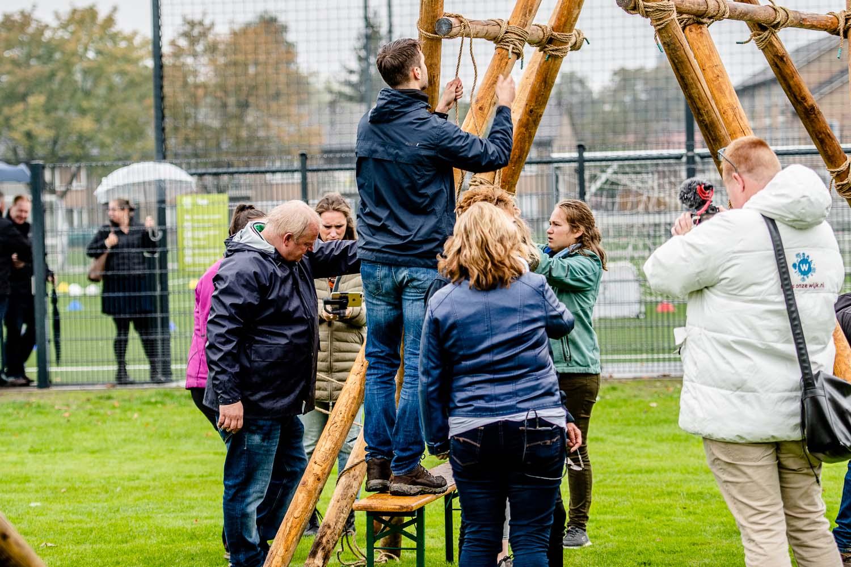 Activiteiten van de scouting tijdens de Kick off van Campus de Braak