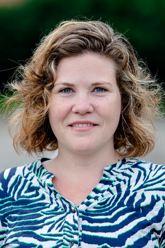 Portret Stefanie Aarts van wijkraad Binnenstad
