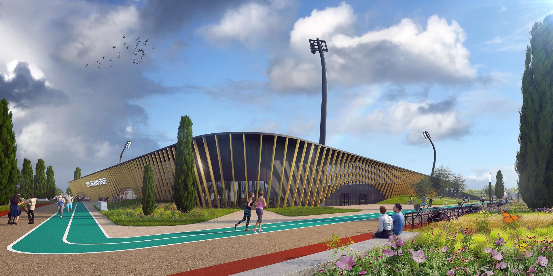 Impressie Campus De Braak stadion